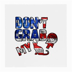 Dont Grab My Medium Glasses Cloth (2 Side) by Valentinaart