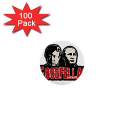 Goodfellas Putin And Trump 1  Mini Buttons (100 Pack)  by Valentinaart