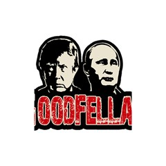 Goodfellas Putin And Trump Shower Curtain 48  X 72  (small)