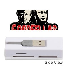 Goodfellas Putin And Trump Memory Card Reader (stick)  by Valentinaart