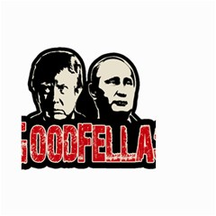 Goodfellas Putin And Trump Small Garden Flag (two Sides)