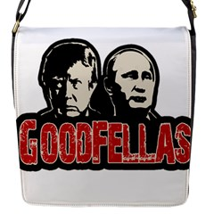 Goodfellas Putin And Trump Flap Messenger Bag (s)