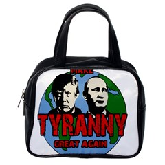 Make Tyranny Great Again Classic Handbags (one Side) by Valentinaart