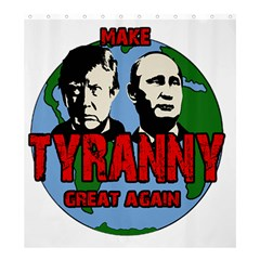 Make Tyranny Great Again Shower Curtain 66  X 72  (large)