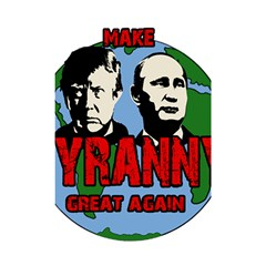Make Tyranny Great Again Shower Curtain 48  X 72  (small)  by Valentinaart