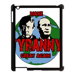 Make Tyranny Great Again Apple Ipad 3/4 Case (black) by Valentinaart