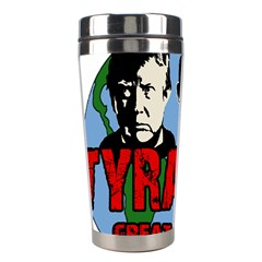 Make Tyranny Great Again Stainless Steel Travel Tumblers by Valentinaart