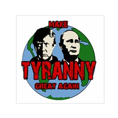 Make Tyranny Great Again Small Satin Scarf (square) by Valentinaart