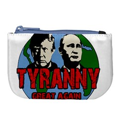 Make Tyranny Great Again Large Coin Purse by Valentinaart