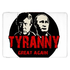 Make Tyranny Great Again Samsung Galaxy Tab 8 9  P7300 Flip Case by Valentinaart