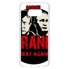 Make Tyranny Great Again Samsung Galaxy S8 Plus White Seamless Case by Valentinaart