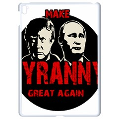 Make Tyranny Great Again Apple Ipad Pro 9 7   White Seamless Case by Valentinaart