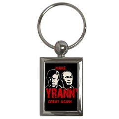Make Tyranny Great Again Key Chains (rectangle)  by Valentinaart
