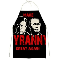Make Tyranny Great Again Full Print Aprons by Valentinaart