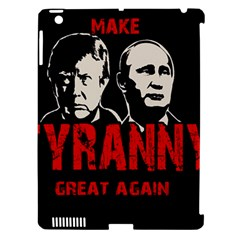 Make Tyranny Great Again Apple Ipad 3/4 Hardshell Case (compatible With Smart Cover) by Valentinaart
