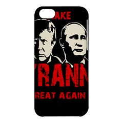 Make Tyranny Great Again Apple Iphone 5c Hardshell Case by Valentinaart