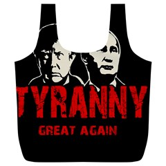 Make Tyranny Great Again Full Print Recycle Bags (l)