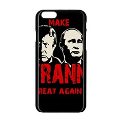 Make Tyranny Great Again Apple Iphone 6/6s Black Enamel Case by Valentinaart