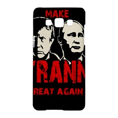 Make Tyranny Great Again Samsung Galaxy A5 Hardshell Case  by Valentinaart