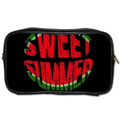 Watermelon   Sweet Summer Toiletries Bags 2 Side