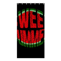 Watermelon   Sweet Summer Shower Curtain 36  X 72  (stall)