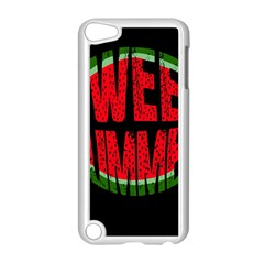 Watermelon   Sweet Summer Apple Ipod Touch 5 Case (white) by Valentinaart