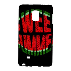 Watermelon   Sweet Summer Galaxy Note Edge by Valentinaart