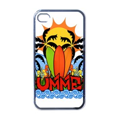 Tropical Summer Apple Iphone 4 Case (black)