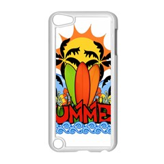 Tropical Summer Apple Ipod Touch 5 Case (white) by Valentinaart
