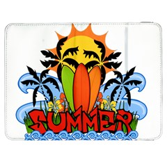 Tropical Summer Samsung Galaxy Tab 7  P1000 Flip Case by Valentinaart