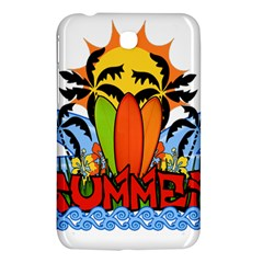Tropical Summer Samsung Galaxy Tab 3 (7 ) P3200 Hardshell Case  by Valentinaart