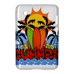 Tropical Summer Samsung Galaxy Tab 2 (7 ) P3100 Hardshell Case  by Valentinaart