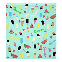 Summer Pattern Shower Curtain 66  X 72  (large)  by Valentinaart