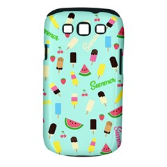 Summer Pattern Samsung Galaxy S Iii Classic Hardshell Case (pc+silicone)