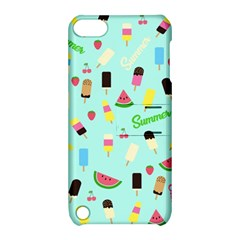 Summer Pattern Apple Ipod Touch 5 Hardshell Case With Stand by Valentinaart