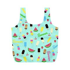Summer Pattern Full Print Recycle Bags (m)