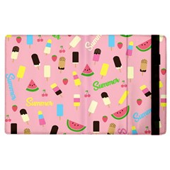 Summer Pattern Apple Ipad 2 Flip Case by Valentinaart