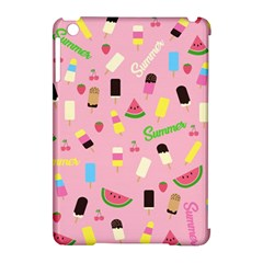 Summer Pattern Apple Ipad Mini Hardshell Case (compatible With Smart Cover)