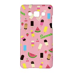 Summer Pattern Samsung Galaxy A5 Hardshell Case  by Valentinaart