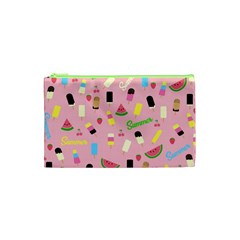 Summer Pattern Cosmetic Bag (xs)