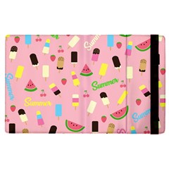 Summer Pattern Apple Ipad Pro 9 7   Flip Case