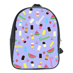 Summer Pattern School Bags(large)