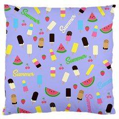 Summer Pattern Large Cushion Case (one Side)