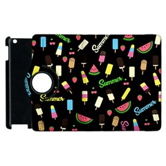 Summer Pattern Apple Ipad 2 Flip 360 Case by Valentinaart