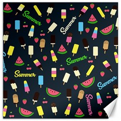 Summer Pattern Canvas 16  X 16