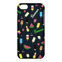 Summer Pattern Apple Iphone 5c Hardshell Case by Valentinaart