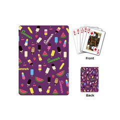 Summer Pattern Playing Cards (mini)