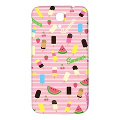 Summer Pattern Samsung Galaxy Mega I9200 Hardshell Back Case by Valentinaart