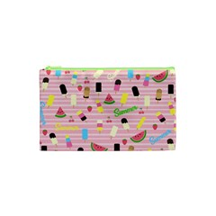 Summer Pattern Cosmetic Bag (xs) by Valentinaart
