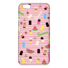 Summer Pattern Iphone 6 Plus/6s Plus Tpu Case by Valentinaart